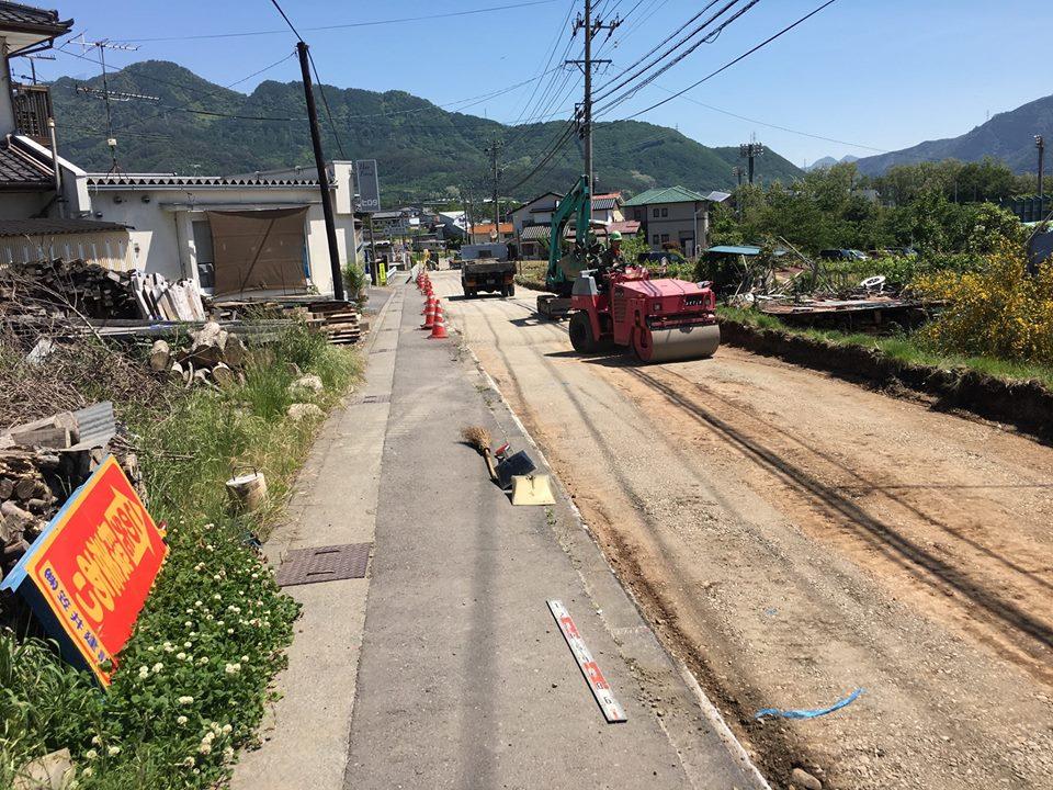 その他補修工事をお考えの方 - 事例 産業道路の補修工事