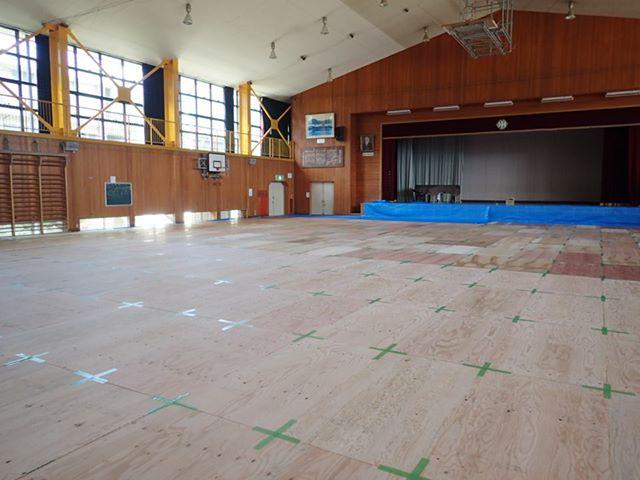 その他補修工事をお考えの方 - 事例 体育館改修工事