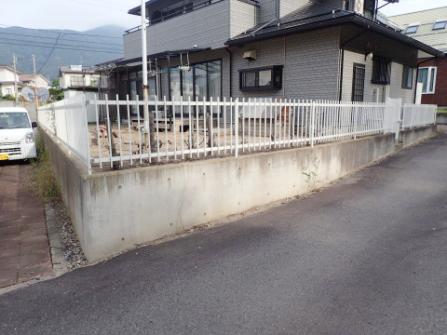 積雪対応の駐車場増設-01