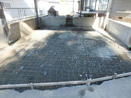 積雪対応の駐車場増設-03